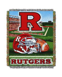 """The Northwest Company Rutgers College """"Home Field Advantage"""" 48x60 Tapestry Throw"""