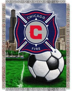 """The Northwest Company Chicago Fire 48""""x60"""" Tapestry Throw"""
