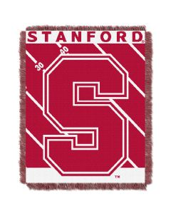The Northwest Company Stanford  College Baby 36x46 Triple Woven Jacquard Throw - Fullback Series