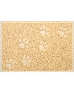 "Nandog Pet Gear Nandog Cat Litter Mat 13""X19""-Tan"