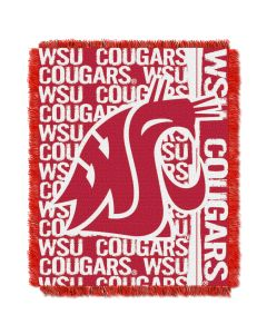 The Northwest Company Washington State College 48x60 Triple Woven Jacquard Throw - Double Play Series