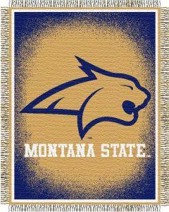 "The Northwest Company Montana State ""Focus"" 48""x60"" Triple Woven Jacquard Throw (College) - Montana State ""Focus"" 48""x60"" Triple Woven Jacquard Throw (College)"