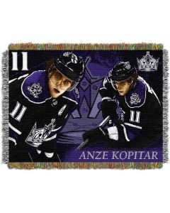"""The Northwest Company Anze Kopitar - Kings  """"Players"""" 48x60 Tapestry Throw"""