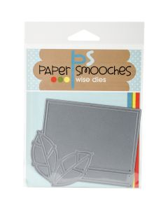 NEW! Paper Smooches Die-Leaf Frame