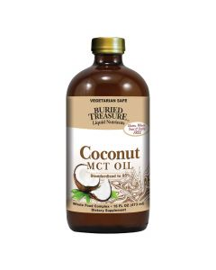 Buried Treasure Coconut Oil - MCT - Case of 12