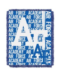 The Northwest Company Air Force College 48x60 Triple Woven Jacquard Throw - Double Play Series