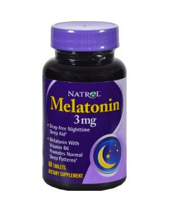 Natrol Melatonin - 3 mg - 60 Tablets
