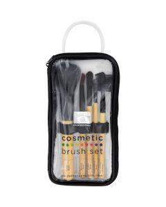 Earth Therapeutics Cosmetic Brush Set - 1 Set