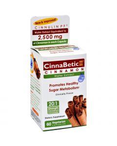 Hero Nutritional Products Hero Nutritionals CinnaBetic ll - 2500 mg - 60 Vegetarian Capsules