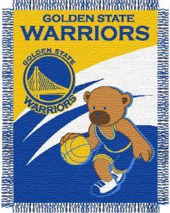 "The Northwest Company Warriors 044 baby 36""x 46"" Triple Woven Jacquard Throw (NBA) - Warriors 044 baby 36""x 46"" Triple Woven Jacquard Throw (NBA)"
