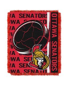 The Northwest Company Senators  48x60 Triple Woven Jacquard Throw - Double Play Series