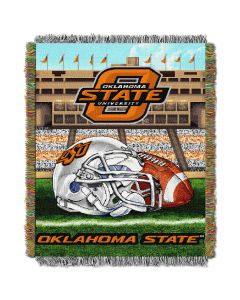 "The Northwest Company Oklahoma State College ""Home Field Advantage"" 48x60 Tapestry Throw"