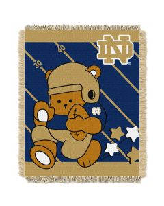 The Northwest Company Notre Dame College Baby 36x46 Triple Woven Jacquard Throw - Fullback Series