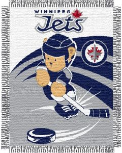 "The Northwest Company Winnipeg Jets 044 baby 36""x 46"" Triple Woven Jacquard Throw (NHL) - Winnipeg Jets 044 baby 36""x 46"" Triple Woven Jacquard Throw (NHL)"