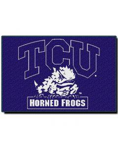 The Northwest Company Texas Christian College 20x30 Acrylic Tufted Rug