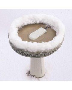 """Ice Eliminator Bird Bath De-Icer - K&H Pet Products Super Ice Eliminator Bird Bath Deicer White 6.5"""" x 3.25"""" x 1"""""""