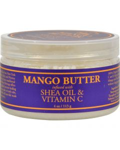 Nubian Heritage Mango Butter Infused with Shea Oil and Vitamin C - 4 oz