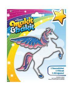 Colorbok Makit & Bakit Suncatcher Kit-Pegasus