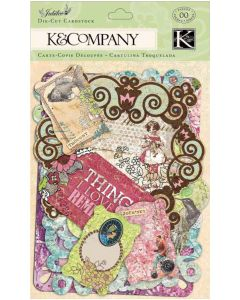 K&Company Jubilee Cardstock Die-Cuts-Tags & Note Cards