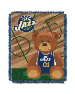 The Northwest Company Jazz  Baby 36x46 Triple Woven Jacquard Throw - Half Court Series