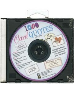 Hot Off The Press Card Quotes CD-1,000 Quotes