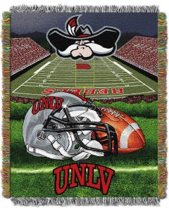 "The Northwest Company UNLV College ""Home Field Advantage"" 48x60 Tapestry Throw"